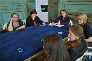 Editorial visits, Lviv Book Fair, Book Platform project